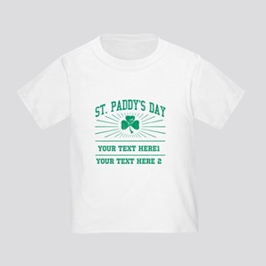 St Paddy's day [editable] Toddler T-Shirt